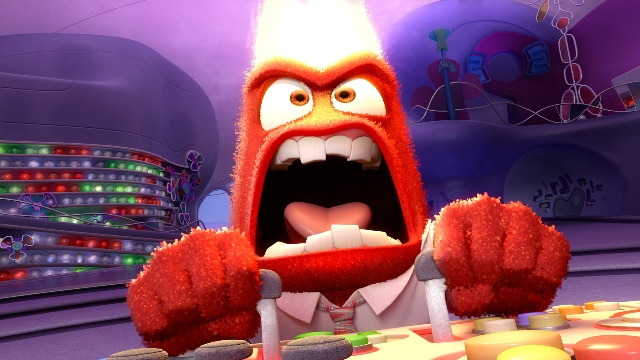 INSIDE OUT ??Pictured: Anger. ?2015 Disney?Pixar. All Rights Reserved.